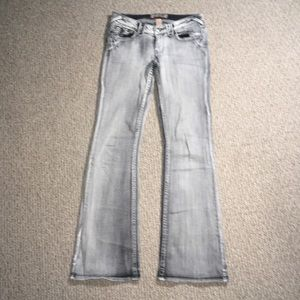 Candie's Flare Jeans Gray/black 9 30x32.5 #42
